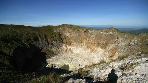 Indahnya Pemandangan dari Gardu Gunung Mahawu