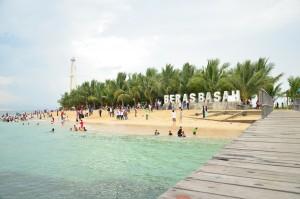Pulau cantik, Beras Basah