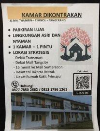 Kamar Strategis di Tangerang