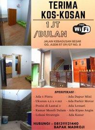 Kosan Murah di Jakarta Selatan Free WiFi