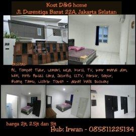 Kost DnG Home -Duren Tiga Jakarta Selatan-