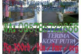 Kost Putri, Mahasiswi & Karyawati di Malang Daerah Blimbing