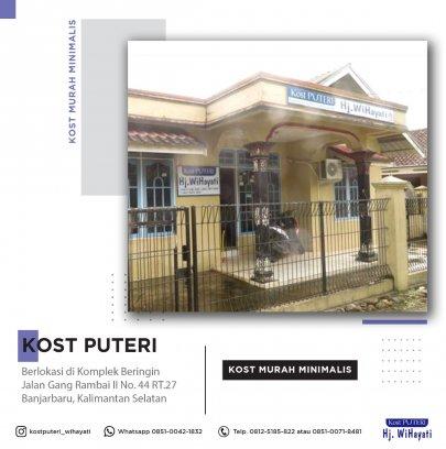 Kost Puteri Banjarmasin Banjarbaru