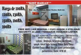 Indekost Salome Bulanan dan Harian (free wifi)