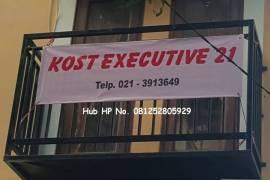 Kost Executive 21 Kebon Kacang Depan Thamrin City - Jakarta Pusat