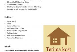 Sedia Kost Murah di Bandung