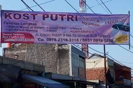 Kost favorit dekat UPI CIBIRU + Fasilitas MESIN CUCI