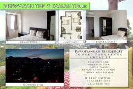 Disewakan Apartemen Parahyangan Residences Bandung 2 Kamar