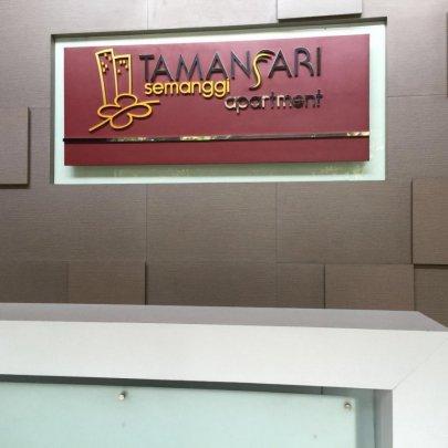 Apartemen TamanSari Semanggi 1 Full Furnish Siap Huni