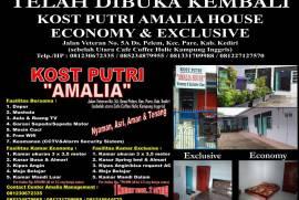 KOST PUTRI AMALIA HOUSE Economy & Exclusive