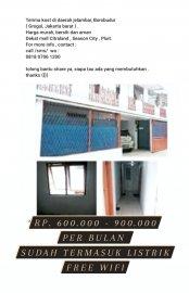 Terima kost daerah Jelambar , grogol Jakarta Barat