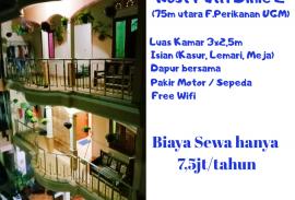 Kost Putri Dinie 2 (Isian 7,5jt/tahun free Wifi & Listrik*)