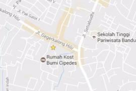 Kost Exclusive Dekost Cipedes, dekat NHI, UPI, Unpas, Telkom, Polban dan STP Bandung