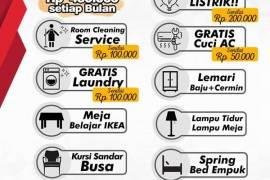 Kost Tanjung Duren 3 Residence 1.2jt/bulan dekat Ukrida, Esa Unggul, Mall Central Park/ Citra Land.