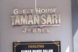 Guest House Taman Sari Jebres - Kost Eksklusif Solo