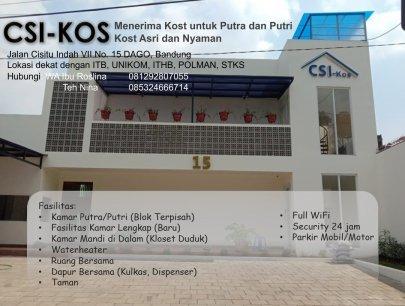 CSI-Kos Eksklusif Dago Bandung dekat ITB